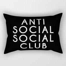 anti social 2 Rectangular Pillow