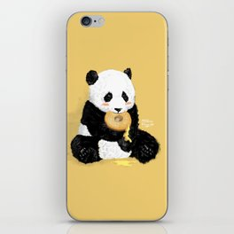 Little Panda iPhone Skin