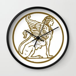 ForteFemme Sphynx of Empowered Women - image only 2 Wall Clock