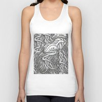 evolution Tank Tops featuring Evolution  by OKAINA IMAGE