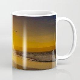 Birds over the Sun Coffee Mug
