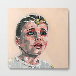 Childlike Empress Painting Metal Print