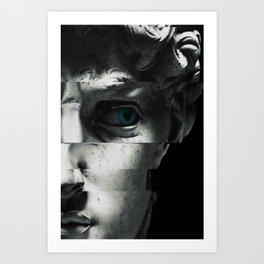David's eye Kunstdrucke