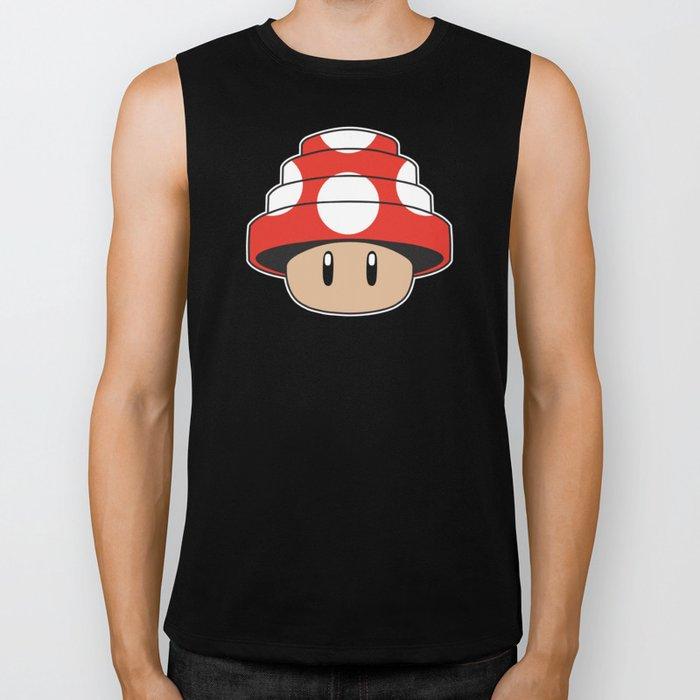 Are We Not Mushroom Biker Tank