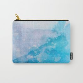 Blue splashes Carry-All Pouch