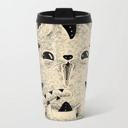 Pussy Cat Metal Travel Mug