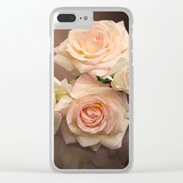The Roses Blush at Dawn Clear iPhone Case