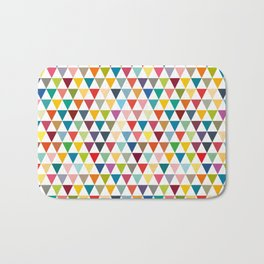 Colorul Triangles Bath Mat