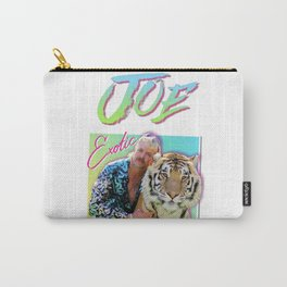 Tiger King Joe Exotic 80s style Carry-All Pouch