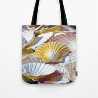 shells Tote Bags featuring Shells by jacqi