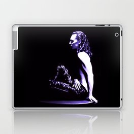 Loki - A Study in Black/White Laptop & iPad Skin