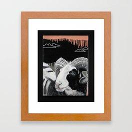 Rammmmmm.... Framed Art Print