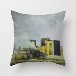 St. Paul Riverfront Throw Pillow
