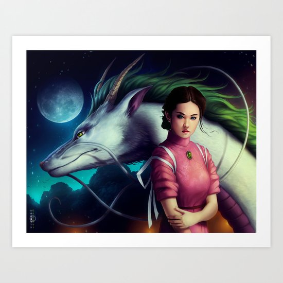 """Spirited Away"" Art Print"