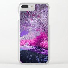 Cranberry Corner Clear iPhone Case