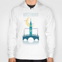 amsterdam Hoodies featuring Amsterdam by Milli-Jane