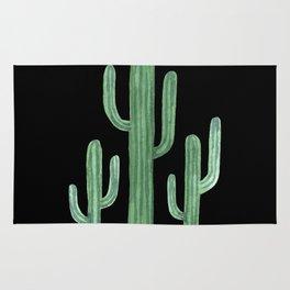 Classic Cactus Black Rug