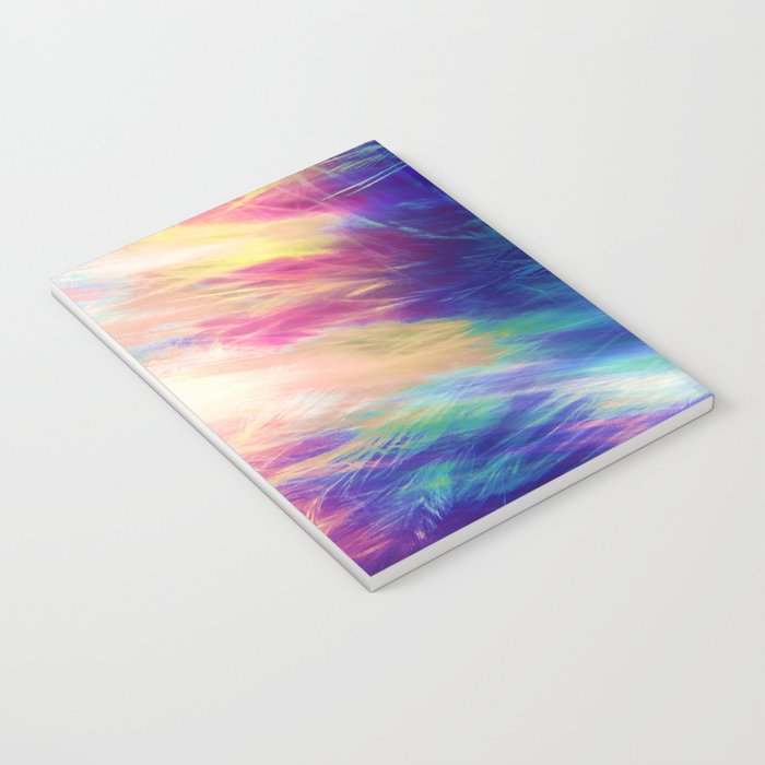 Paint Feathers in the Sky Notebook