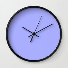Pastel Periwinkle Blue Wall Clock