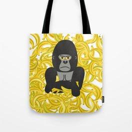 Gorillas and bananas by unPATO Tote Bag