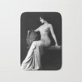 Ziegfeld Follies Girl Bath Mat