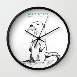 Otterly awful Wall Clock