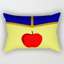 Snow White Dress Rectangular Pillow
