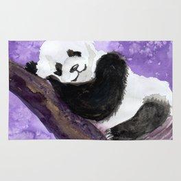 Panda bear sleeping Rug