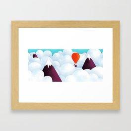 The taste of clouds Framed Art Print