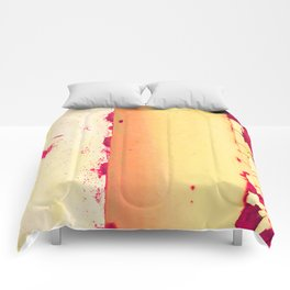 Rusted Tiers Peach and Magenta Comforters