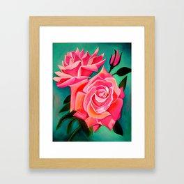 Pink Rose(s) Framed Art Print