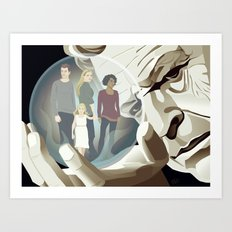 Walter's World Art Print