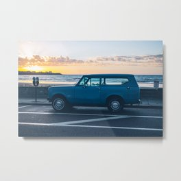 A Classic at the Beach Metal Print