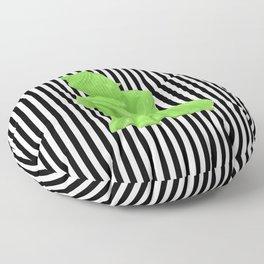 My  inner Green Buddha | Namaste Pop Art Buddha Floor Pillow