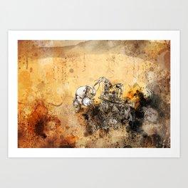 Remix soul Art Print