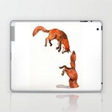 Jumping Red Fox Laptop & iPad Skin