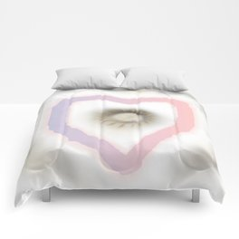 Love you and me Comforters