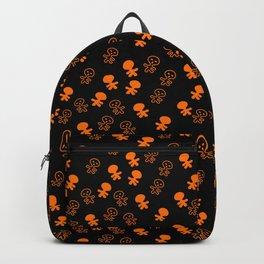 Aliens-Orange Backpack