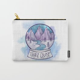NIGHT COURT SNOW GLOBE Carry-All Pouch
