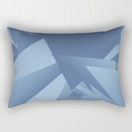 Airy Blue Riverside 1 Rectangular Pillow