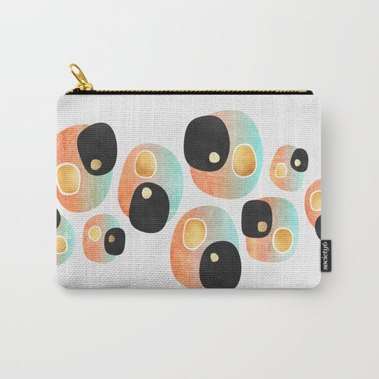 Tropical Pebbles Carry-All Pouch
