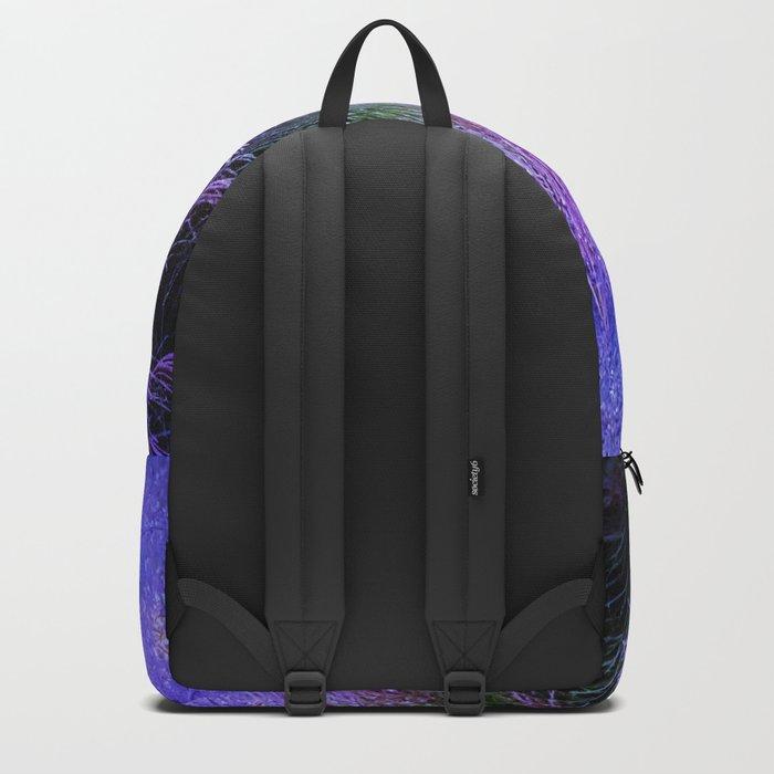 Purple long grass Backpack