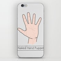 naked iPhone & iPod Skins featuring Naked by Digital Sketch