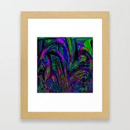 Freak Out Framed Art Print