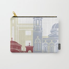 Limassol skyline poster Carry-All Pouch