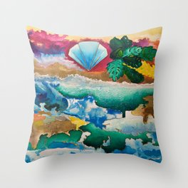 Creations of Light Reflections Throw Pillow
