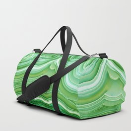 Agate Crystal Green Duffle Bag
