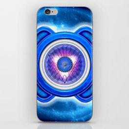"Ajna Chakra - Brow Chakra - Series ""Open Chakra"" iPhone Skin"