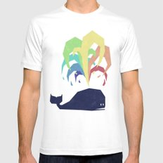 Rainbow Warrior White Mens Fitted Tee LARGE