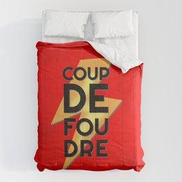 Coup de Foudre / Red Comforters